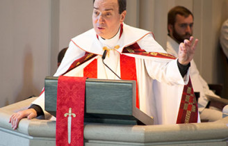 Video: President Bugbee preaches at LCMS President's Installation
