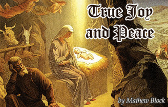 True Joy and Peace