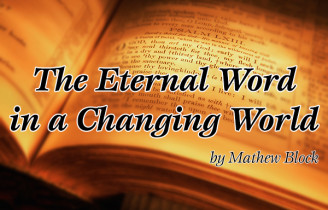 The Eternal Word in a Changing World