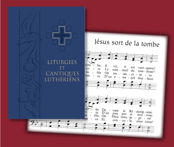 The publication of a French-language hymnal provides resources for congregations to hold services in French.