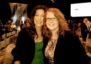 Kelti Malone (left) and Jennifer Jade Kerr