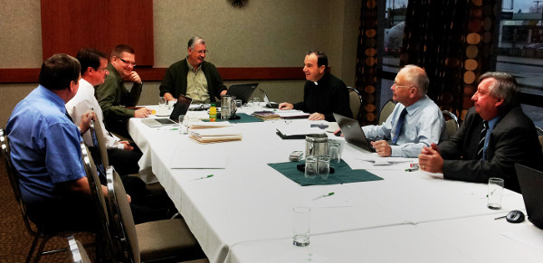 LCC's Council of Presidents discusses seminary recruitment in September, 2011.
