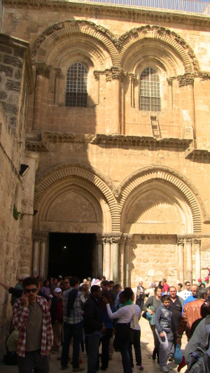 The Church of the Holy Sepulchre.