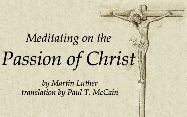 Meditating on the Passion of Christ