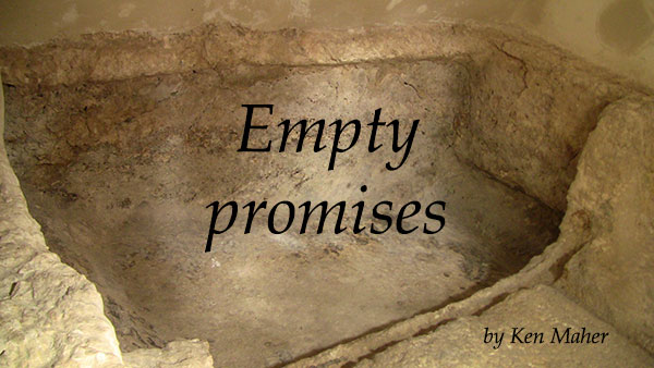 empty promises Empty promises has 2,187 ratings and 77 reviews obsidian said: i am starting to wind down with my true crime kick i think i need to mix it up a bit, be.