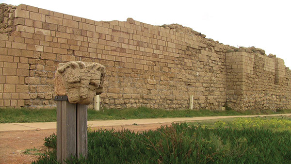 Ruins at Caesarea.