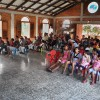 Worship service at the Children of Love Foundation in La Paz, Honduras.