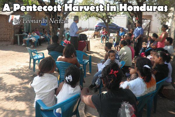 A Pentecost Harvest in Honduras