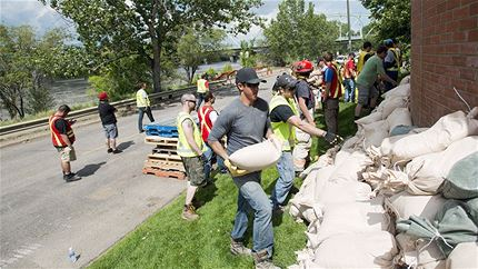 Support flood relief in Southern Alberta