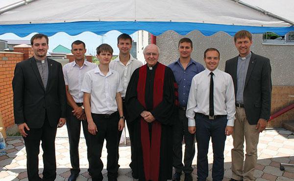 Ukrainian seminarians celebrate graduation