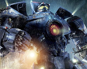 A Jaeger from Pacific RIm.