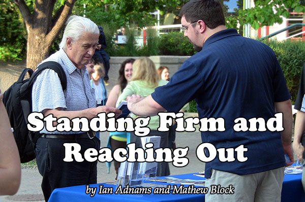 Standing Firm and Reaching Out