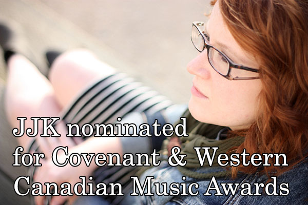 Jennifer Jade Kerr nominated for Covenant Awards and Western Canadian Music Awards