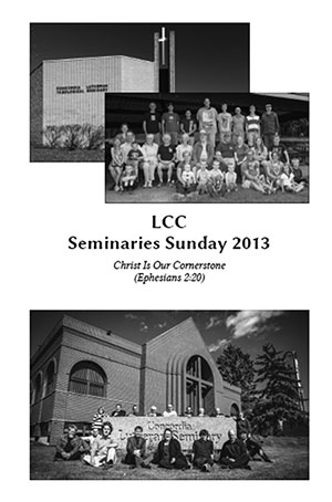 Seminaries Sunday resources now available (LCC)