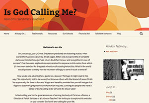 Is God Calling Me? New website helps Christians answer the question