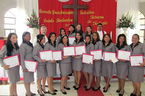 Lutheran Church Synod of Nicaragua (ILSN) celebrates the graduation of 29 new church workers