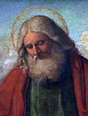 A painting of God by Cima da Conegliano.