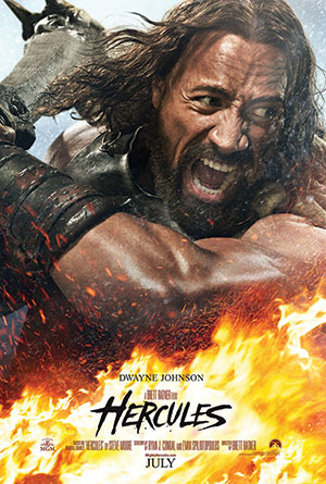 Hercules: not so strong on screen this time