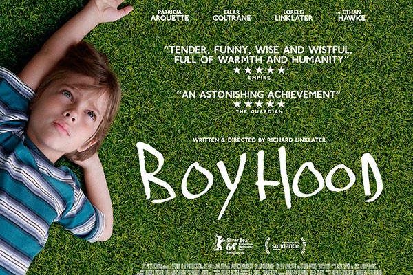 Reviewing Boyhood: What if the moment is seizing you?