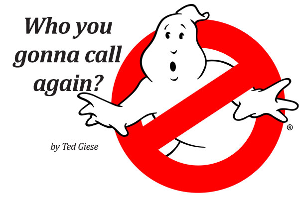 Who ya gonna call again?