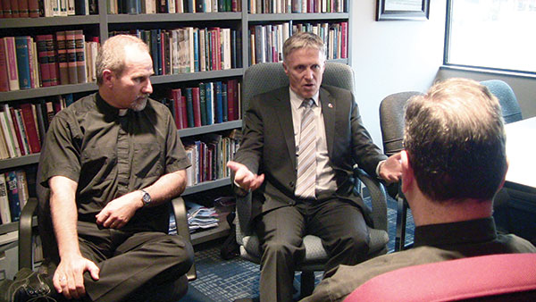 Australian Bishop meets with LCC leaders