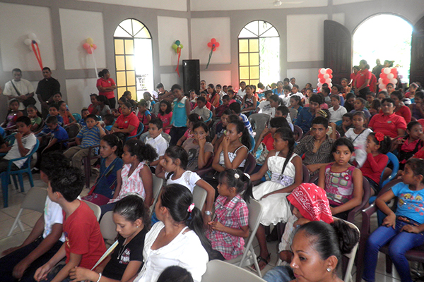 Nicaraguan children celebrate Reformation Day