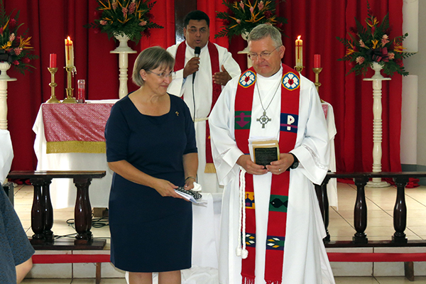 Regional Mission Supervisor and Deaconess for Central America installed