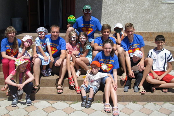 Children at one of SELCU's summer camps.