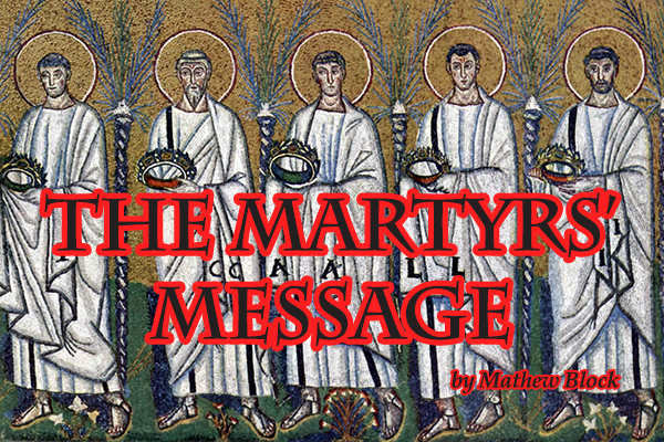 the-martyrs-message