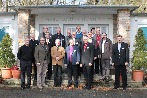 Participants in 2015's theological conference in Germany.