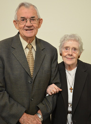 Edwin and Marjorie Lehman