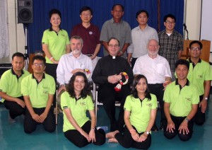 LCC leaders met with Thai church leaders in March 2015.