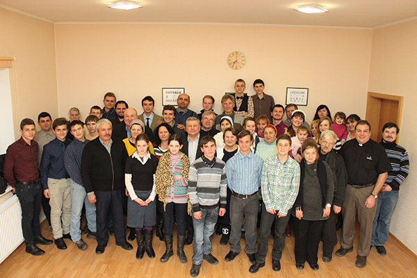 Celebrating 20 years of congregational ministry in Odessa, Ukraine.