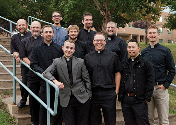 First and second years at Concordia Lutheran Seminary.