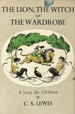 First edition of The Lion, the Witch, and the Wardrobe.