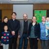 Rev. Dr. Thomas Winger; Terri, Sophia, and Isaac Paik; Matthew and Laurin Fenn; Iris Barta with Isaac Fenn; and Janice Buchner.